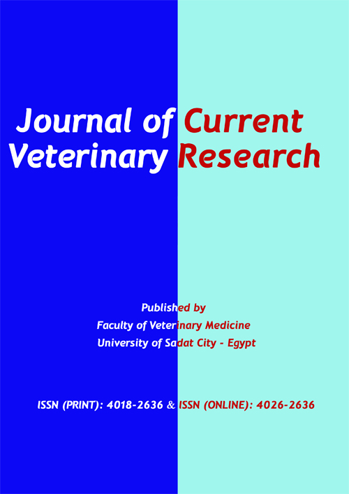 Journal of Current Veterinary Research